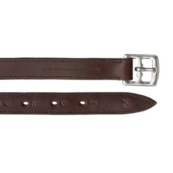 CAMELOT Lined Stirrup Leathers Brown (407074BRN-7/8)