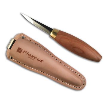 FLEXCUT Sloyd Woodworking High-Carbon Steel Knife (KN50)