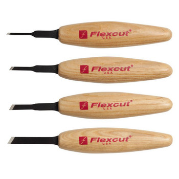 FLEXCUT Skew Micro Woodcarving Tool Set (MT200)