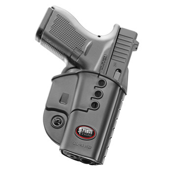 FOBUS fits Glock 43 Right Hand Evolution Belt Holster (GL43NDBH)