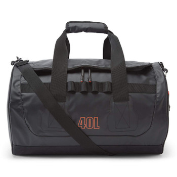 GILL Black Tarp Barrel Bag 40L (L084B)