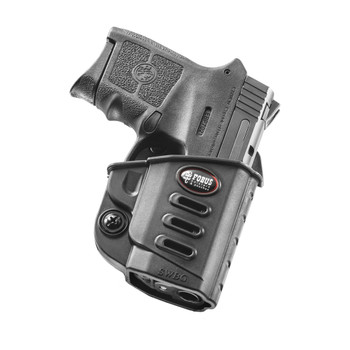 FOBUS Evolution S&W M&P Bodyguard .380 Crimson Trace Integrated Red Laser RH Belt Holster (SWBGBH)