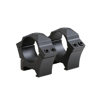 SIG SAUER ALPHA Hunting 1in Low Precision Machined Steel Riflescope Rings (SOA10006)