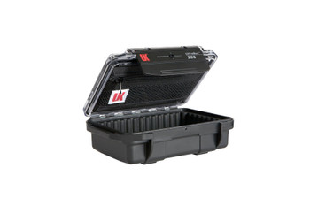 UNDERWATER KINETICS 206 UltraBox ABS Rubber Liner Clear Lid Black Case (508164)