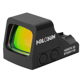 HOLOSUN HS507K Multi-Reticle System Reflex Sight (HS507K-X2)