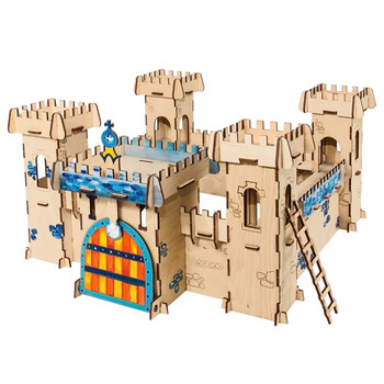 WOODBY Fortress 3D Wooden Puzzle (00273)