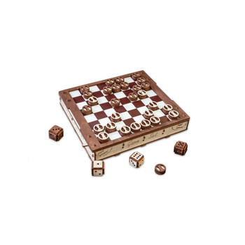 ECO WOOD ART Gameset 620-Piece 3D Puzzle (GAMESET)