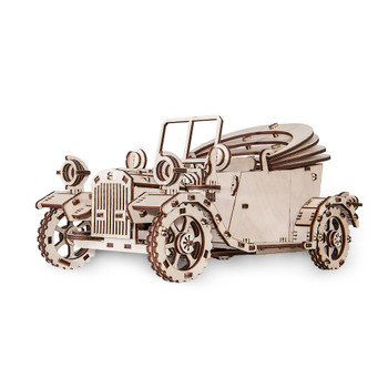 ECO WOOD ART Retrocar 315-Piece 3D Puzzle (RETROCAR)