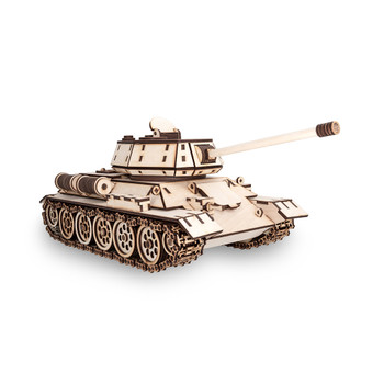 ECO WOOD ART Tank T-34 600-Piece 3D Puzzle
