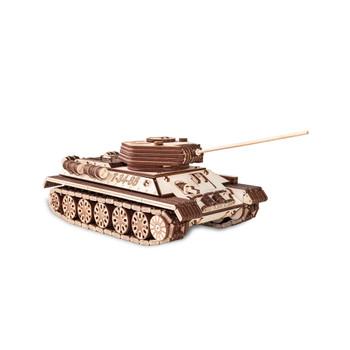ECO WOOD ART Tank T-34 965-Piece 3D Puzzle (TANK-T-34)