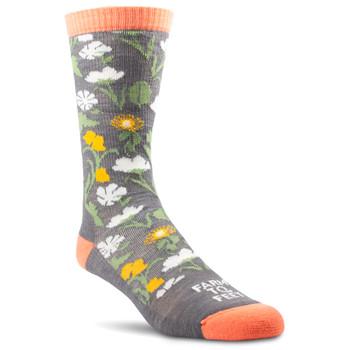 FARM TO FEET Womens York Sparrow Socks (FF-7036-512-SPAR)