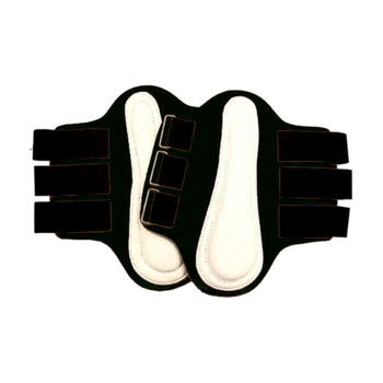 INTREPID INTERNATIONAL Neoprene Splint White Patches Black Boot (245852-par)