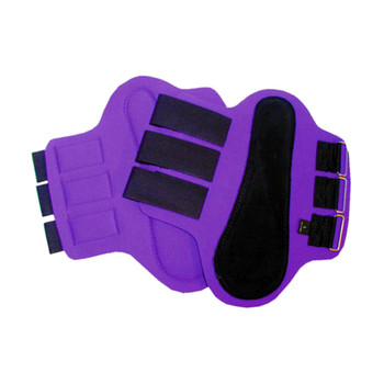 INTREPID INTERNATIONAL Neoprene Splint Black Patches Purple Boot (245855-par)