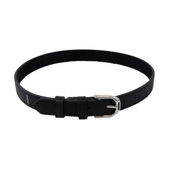 INTREPID INTERNATIONAL WOW Stirrup Buckle Black Leather Belt (WB300)
