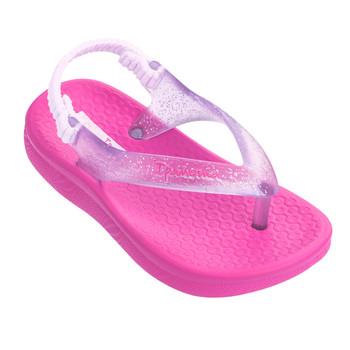 IPANEMA Girl's Ana Tan Baby Pink/Clear Sandal (26121-666)