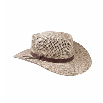 STETSON Gambler Wheat Straw Hat (TSGMBL-023205)