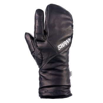 SWANY Hawk Under 3-Finger Black Mitts (SXB-10M-BK)