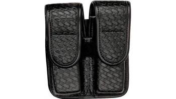BIANCHI Basket Weave Glock 20,21,H&K USP 45,Para Ordnance P12,P13,P14,P16 Double Mag Holster (22085)