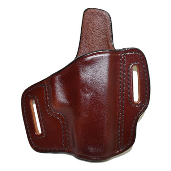 DON HUME Double 9 OT H721OT Right Hand Brown Holster Fits Glock 19/23 (J336058R)
