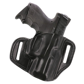 GALCO Combat Master for Glock 43 Right Hand Leather Belt Holster (CM800B)