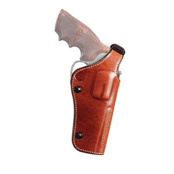 GALCO Dual Position Phoenix S&W L Frame 686 4in Right Hand Leather Belt Holster (PHX104)