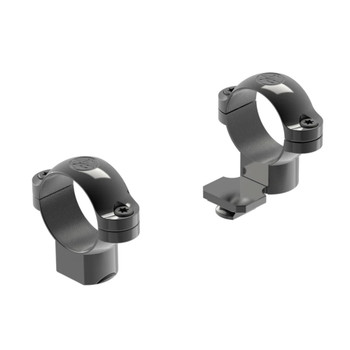 LEUPOLD Standard One-Piece 1in High Ext Black Gloss Scope Rings (49912)