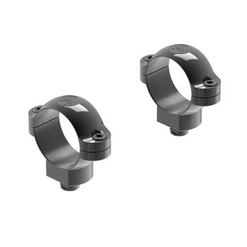 LEUPOLD Quick Release 1in Medium Black Gloss Scope Rings (49973)