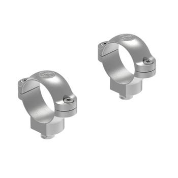 LEUPOLD Quick Release 1in Medium Silver Scope Rings (49975)