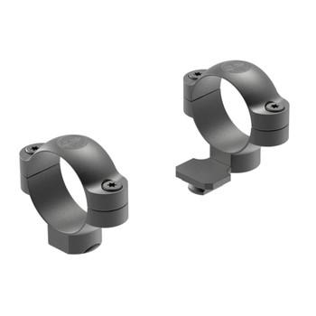 LEUPOLD Standard One-Piece 30mm High Ext Matte Black Scope Rings (51035)