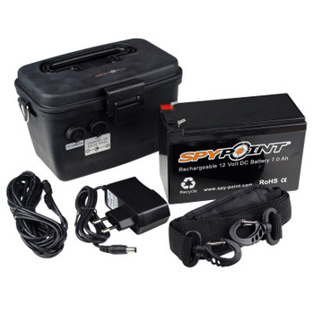 SPYPOINT 12V Rechargable Battery with AC Charger Kit (KIT-12V)