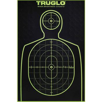 TRUGLO Tru-See 6 Pack of Handgun 12x18 Splatter Targets (TG13A6)