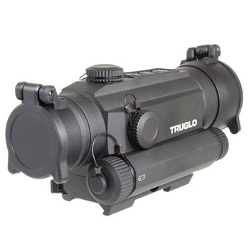TRUGLO Tru-Tec 30mm Red Dot Sight with Green Laser (TG8130GN)