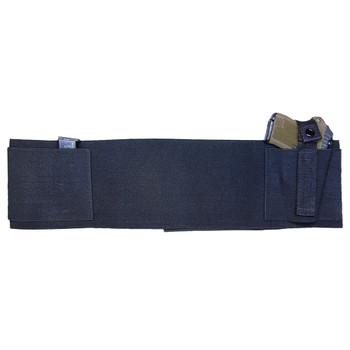 US PeaceKeeper Elastic/Velcro Medium Black Belly Band (BELLYBANDM)