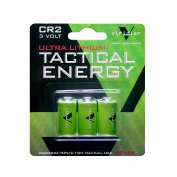 VIRIDIAN 3 Pack of CR2 Lithium Batteries (VIR-CR2-3)
