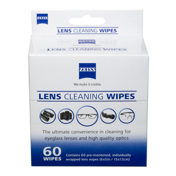 ZEISS 60ct Box Lens Wipes (2127 721)