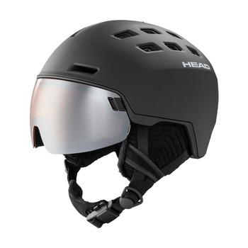 HEAD Unisex Radar With Spare Lens Black Helmet (323250)