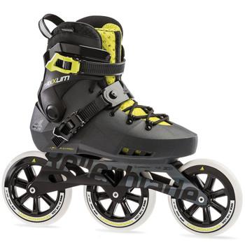 ROLLERBLADE Maxxum Edge 125 3wd Metallic Grey/Lime Skates (079560007N8)
