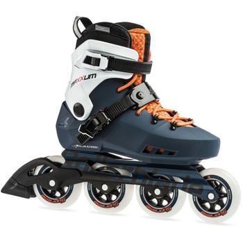 ROLLERBLADE Maxxum Edge 90 Sapphire/Orange Skates (07956100746)