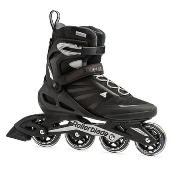 ROLLERBLADE Men's Zetrablade Black/Silver Fitness Inline Skate (07958600816)