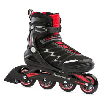 ROLLERBLADE Men's Bladerunner Advantage Pro XT Black/Red Fitness Inline Skate (0T100000741)