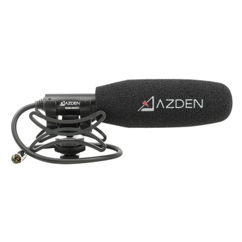 AZDEN Professional Compact Cine Mic Mini XLR Microphone (SGM-250MX)