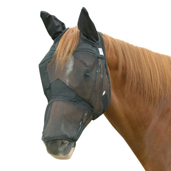 CASHEL Quiet Ride FOAL/Mini Long Nose Fly Mask with Ears (QRFLE)