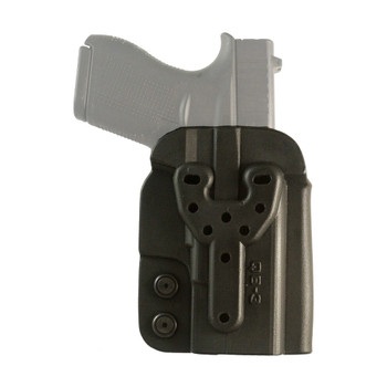 COMP-TAC QB OWB Kydex Modular Size 3 Glock 43/Walther PPS Holster (C57300000NQ3N)