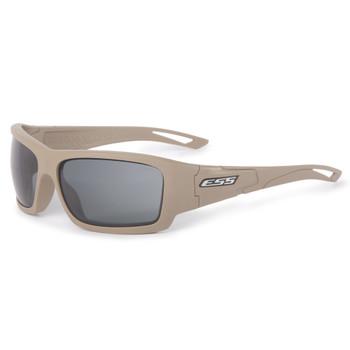 ESS Credence Terrain Tan Frame with Smoke Gray Lens Ballistic Sunglasses (EE9015-14)