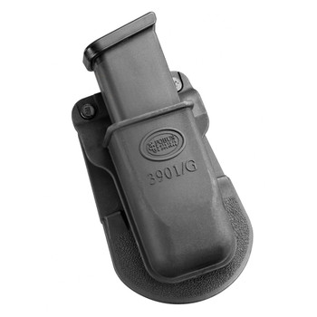 FOBUS Single Mag Pouch Paddle Holster for Glock Double-Stack 9mm Magazines (3901G)