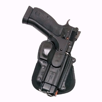 FOBUS CZ-75,75BD,85,Cadet,75D Compact Right Hand Standard Paddle Holster (75D)