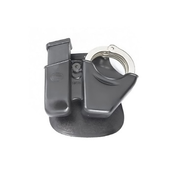 FOBUS 9mm,40 S&W Universal Double Stack Handcuff/Mag Combo Paddle Holster (CU9)