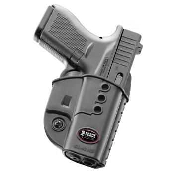 FOBUS Right Hand Evolution Belt Holster for Glock 42 (GL42NDBH)