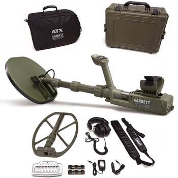 GARRETT ATX With 11in x 13in DD Closed Coil Metal Detector (1140870)