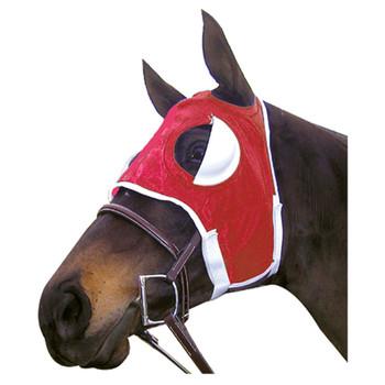 INTREPID INTERNATIONAL Blinker Hood Half Red Cup (155076RD)